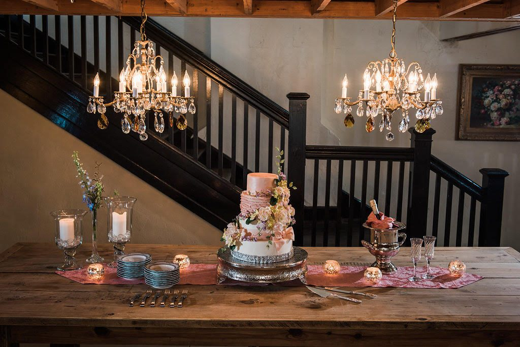 Cake Chandelier Room 8
