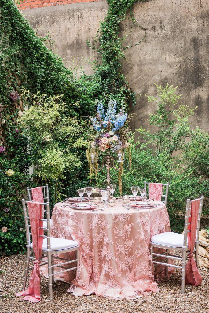 Garden Chandelier Room 3